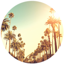 Los Angeles circle