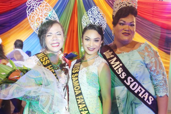 Who is Miss Fa'afafine?