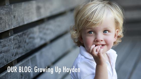 Hayden on Bench