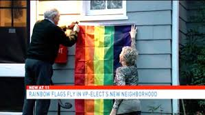 Pence's DC Neighbors Are Trolling Him With LGBTQ Flags